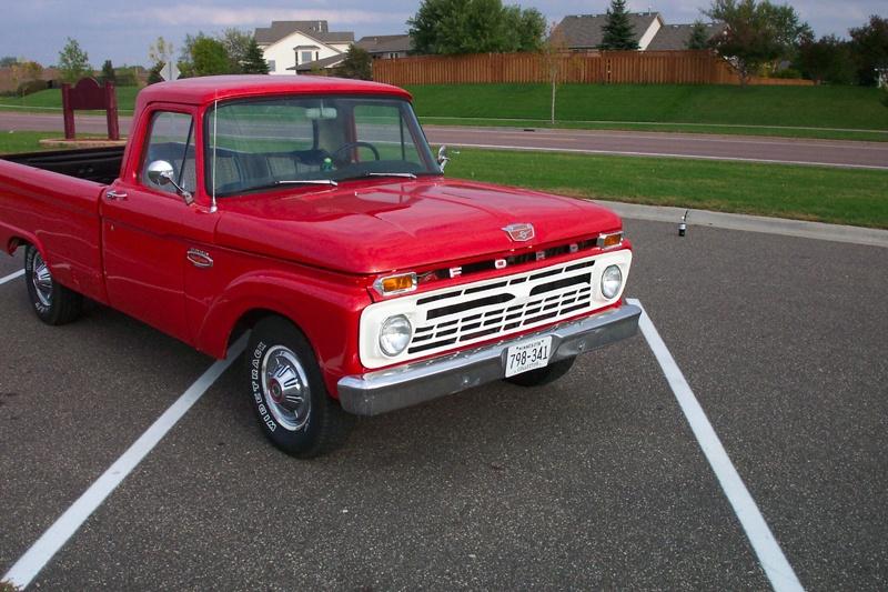 1966 ford f 100, Master Power Brakes, rear disc brake conversion