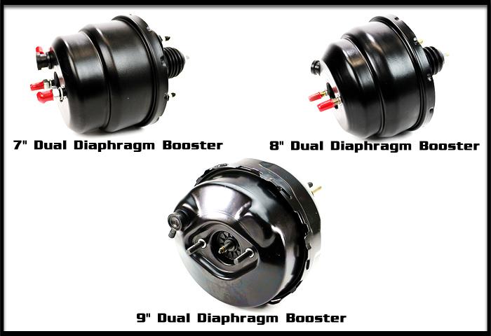 "1967 68 69 Mustang 8/"" Dual Diaphragm Power brake booster kit   ALL NEW"