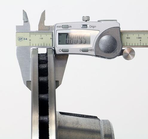 Competitor Rotor Thickness