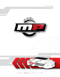 2015 MP Brakes Catalog Cover