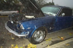 65 Mustang - Drum Brakes Accident