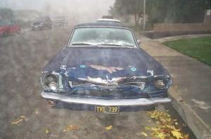 65 Mustang - Drum Brakes Crash