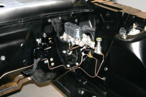 68 mustang custom brake line fabrication