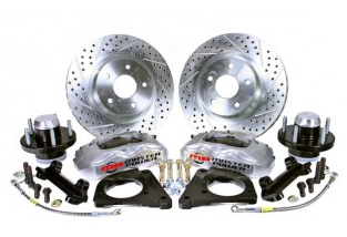 chevelle pro driver series front disc brake conversion kit