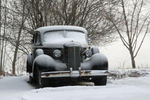 classic-car-winter