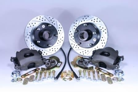 Legend Series Conversion Kit For Ford Trucks With Upgraded Slotted Rotors