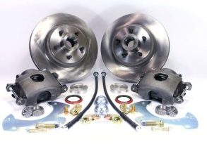 Legend Series Front Disc Brake Conversion Kit - 63 Ford Galaxie