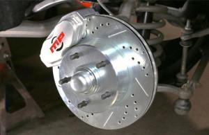 impala brake upgrade installation