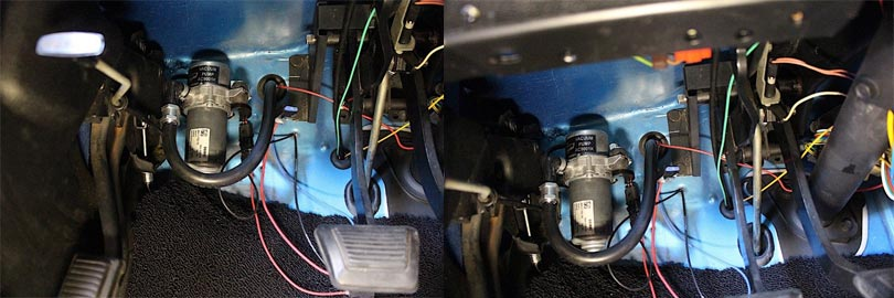 Fixing a Power Brake Problem Using An Electric Vacuum Pump