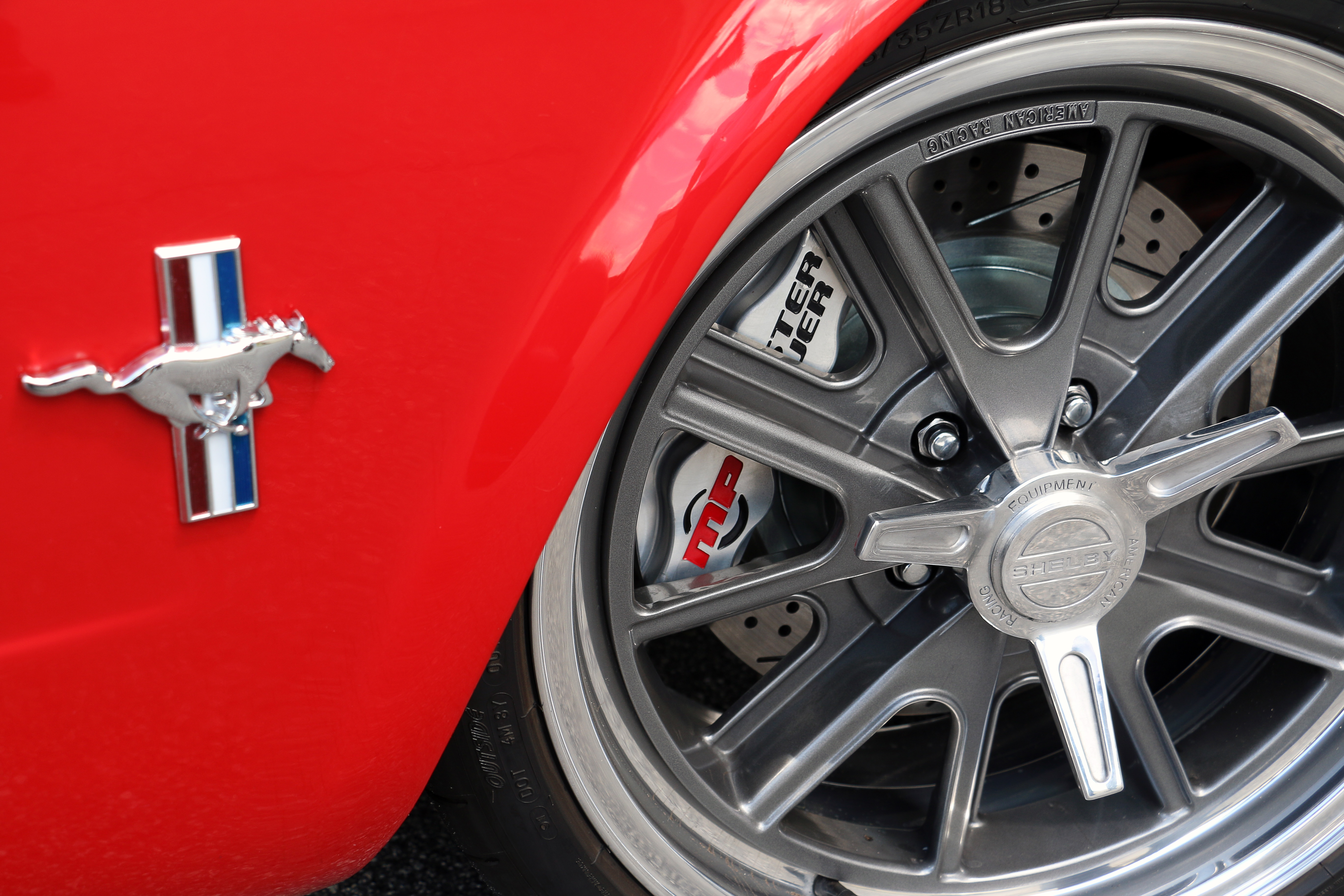 Ford Mustang Front Brakes